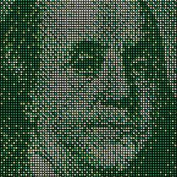 Ben Franklin pushpin art